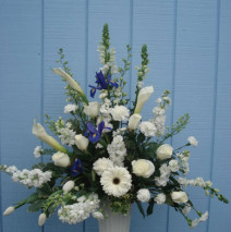 White arrangement $173.39
