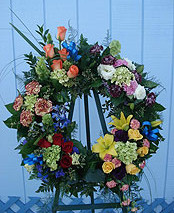 Wreath arrangement – $243.83