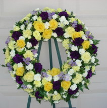Wreath arrangement – $199.00
